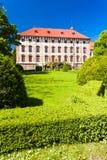 Palacio de Libochovice Imágenes de archivo libres de regalías