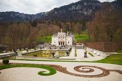 Palacio de Linderhof Imágenes de archivo libres de regalías