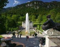 Palacio de Linderhof Foto de archivo libre de regalías