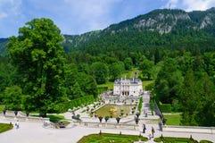 Palacio de Linderhof en Alemania Fotografía de archivo libre de regalías