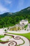 Palacio de Linderhof en Alemania Imagen de archivo libre de regalías