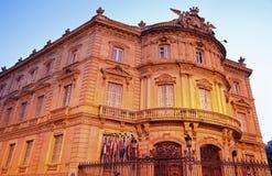 Palacio de Lineares in Madrid Royalty Free Stock Photos