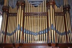 Palacio de Linlithgow, tubos de órgano imagen de archivo