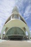 Palacio de los artes, Valencia Imagenes de archivo