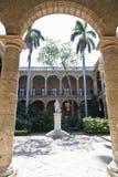 Palacio de los Capitanes Generales Stock Photos