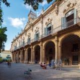 Palacio De Los Capitanes, Havana stockbild