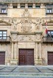 Palacio de los Condes de Gomara в Сории Испании Стоковое Фото
