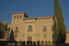 Palacio DE los Cordova, Granada, Spanje stock foto