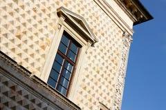 Palacio de los diamantes en Ferrara, Italia Imagen de archivo