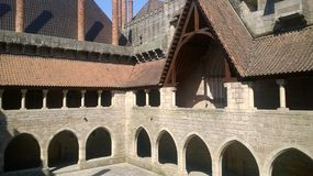 Palacio de los duques Guimarães Imagen de archivo