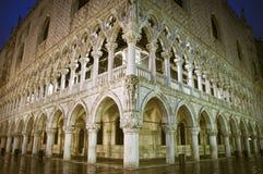 Palacio de los duxes en Venecia Imagen de archivo libre de regalías
