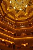 Palacio de los emiratos Foto de archivo libre de regalías