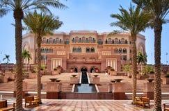 Palacio de los emiratos en Abu Dhabi Fotos de archivo libres de regalías