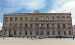 Palacio de los gobernadores en la chihuahua México Imágenes de archivo libres de regalías