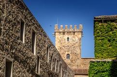 Palacio De Los Golfines De Arriba Fotografia Stock