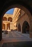 Palacio de los Grandmasters de la señal de Rodas Imagen de archivo libre de regalías