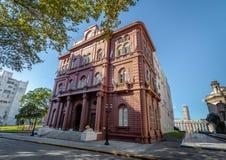 Palacio de los Leones Palace du bâtiment de gouvernement municipal de lions - Rosario, Santa Fe, Argentine photo stock