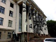 Palacio de los sindicatos Fotografía de archivo libre de regalías