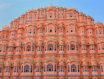 Palacio de los vientos en Jaipur. La India Fotos de archivo libres de regalías
