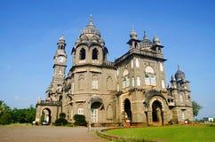 Palacio de los vilas de Shalini de Kolhapur en el maharashtra, la India foto de archivo