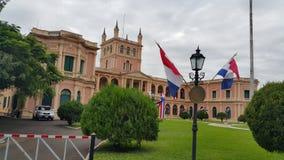 Palacio de López Foto de Stock