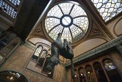 Palacio de Lucerna en Praga Foto de archivo libre de regalías