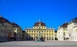 Palacio de Ludwigsburg en Alemania imagen de archivo libre de regalías