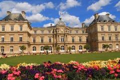 Palacio de Luxembour en París Imagen de archivo
