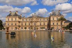 Palacio de Luxembour en París Foto de archivo libre de regalías