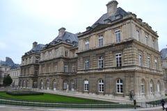 Palacio de Luxemburgo Fotos de archivo libres de regalías