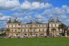 Palacio de Luxemburgo en París Fotografía de archivo