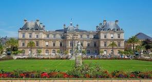 Palacio de Luxemburgo, París Imágenes de archivo libres de regalías