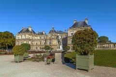 Palacio de Luxemburgo, París Fotografía de archivo libre de regalías