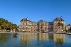 Palacio de Luxemburgo, París Imagen de archivo libre de regalías