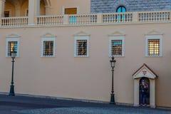 Palacio de Mónaco Monte Carlo Fotos de archivo libres de regalías
