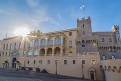 Palacio de Mónaco Monte Carlo Imágenes de archivo libres de regalías