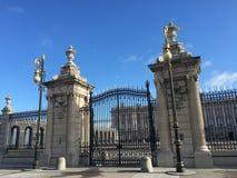 Palacio de Madrid Fotos de archivo libres de regalías