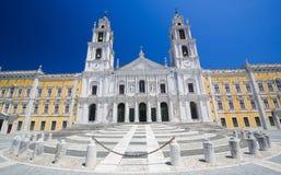 Palacio de Mafra, Portugal Imágenes de archivo libres de regalías