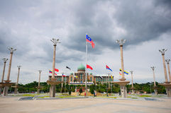 Palacio de Malasia Foto de archivo