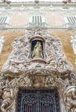 Palacio de Marquis de Dos Aguas, museo nacional Gonzale de la cerámica Imagen de archivo libre de regalías