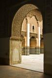 Palacio de Marrakesh Imágenes de archivo libres de regalías