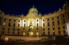 Palacio de Michaelertrakt, Hofburg en Viena, Austria imágenes de archivo libres de regalías