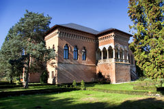 Palacio de Mogosoaia Fotos de archivo libres de regalías