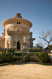 Palacio de Monserrate imagen de archivo