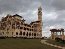Palacio de Montazah imagenes de archivo