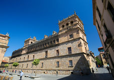 Palacio de Monterrey in Salamanca, Spain. This palace is a famous example of the Plateresque architectural style Stock Photos