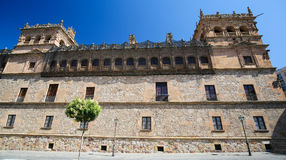 Palacio de Monterrey in Salamanca, Spain. This palace is a famous example of the Plateresque architectural style Stock Photo