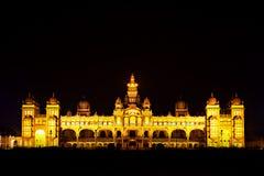 Palacio de Mysore Foto de archivo libre de regalías