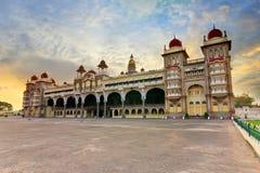 Palacio de Mysore fotos de archivo
