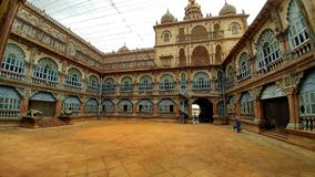 Palacio de Mysore, la India Fotografía de archivo